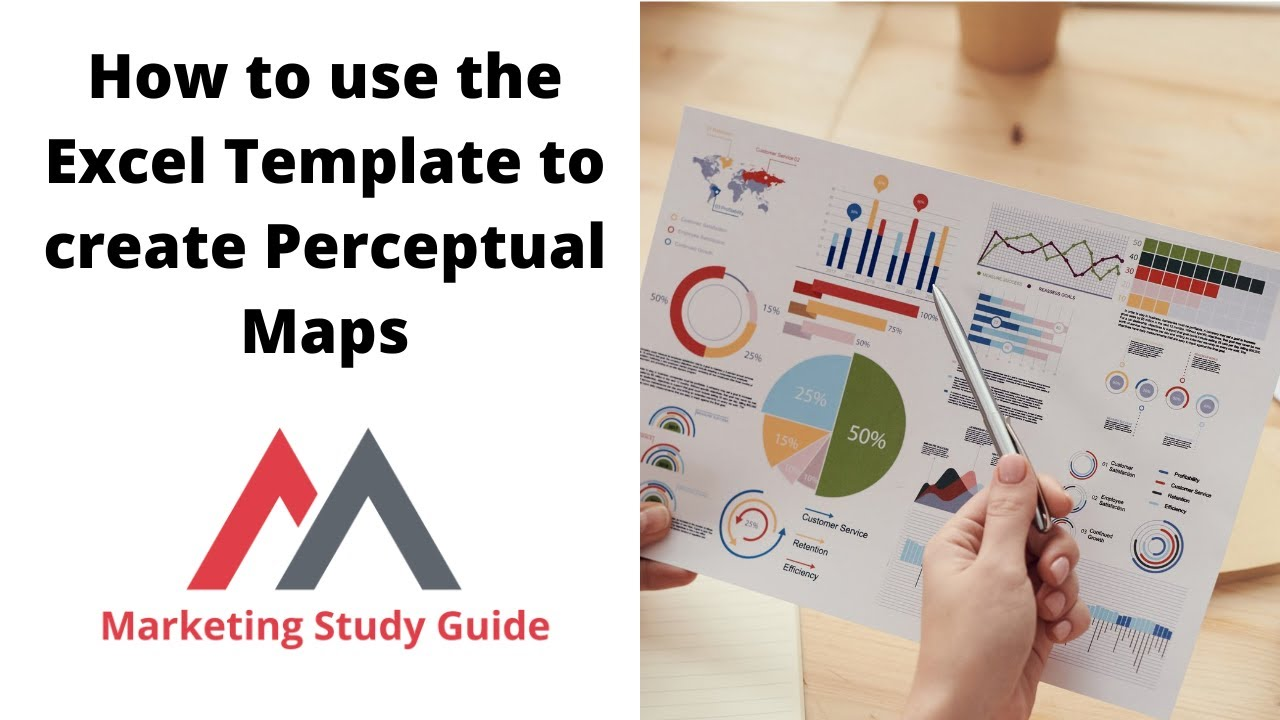 How to use the excel template to create perceptual maps Create a map online free