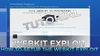 PS4 WebKit Exploit Full Setup Tutorial