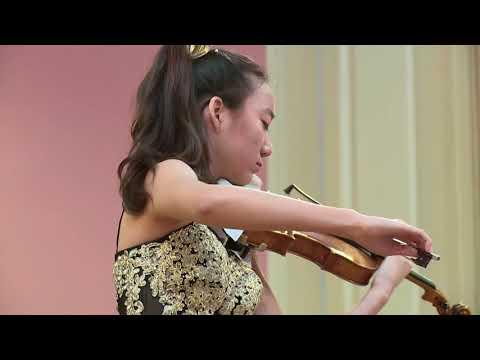 ELLI CHOI / Menuhin Competition 2018, Senior semi-finals
