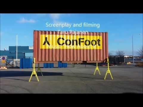 видео: Устройство выгрузки контейнера без оборудования на склад