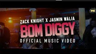 Zack Knight x Jasmin Walia - Bom Diggy (Official Video By V4H Musics)