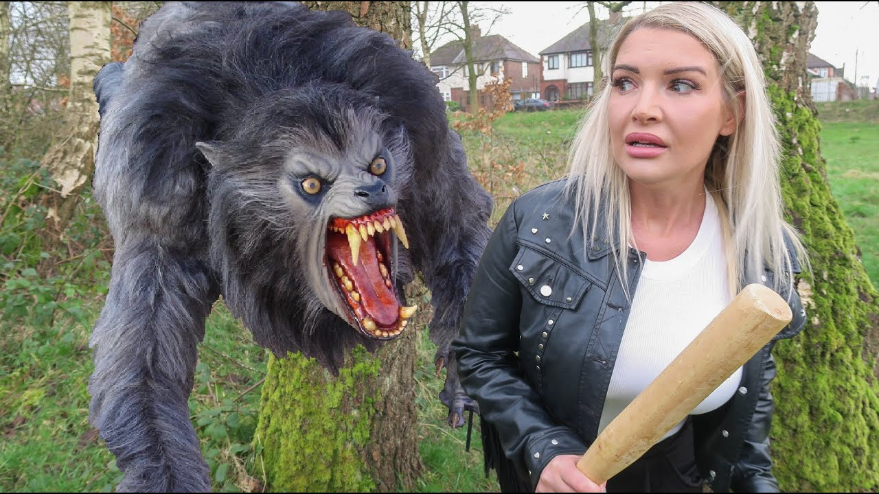 Chased By A Werewolf On Holiday Again!!