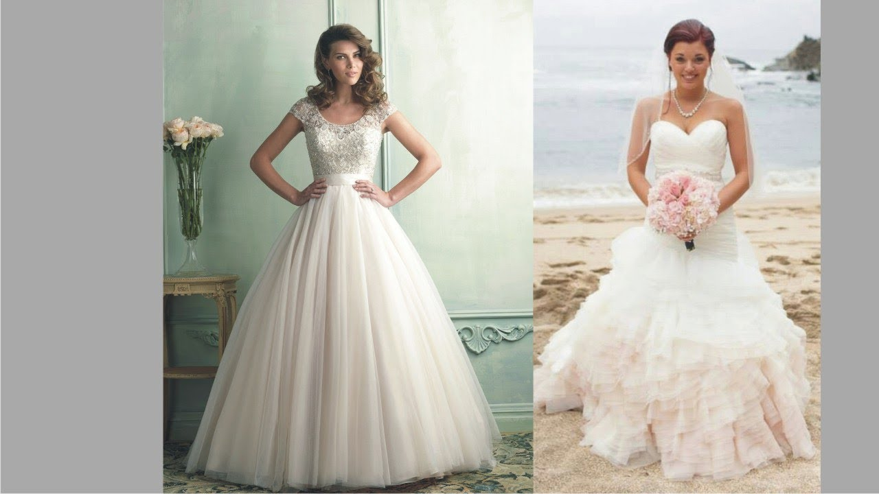 Unique Hoop Skirt Wedding Dresses To Light Your Big Day