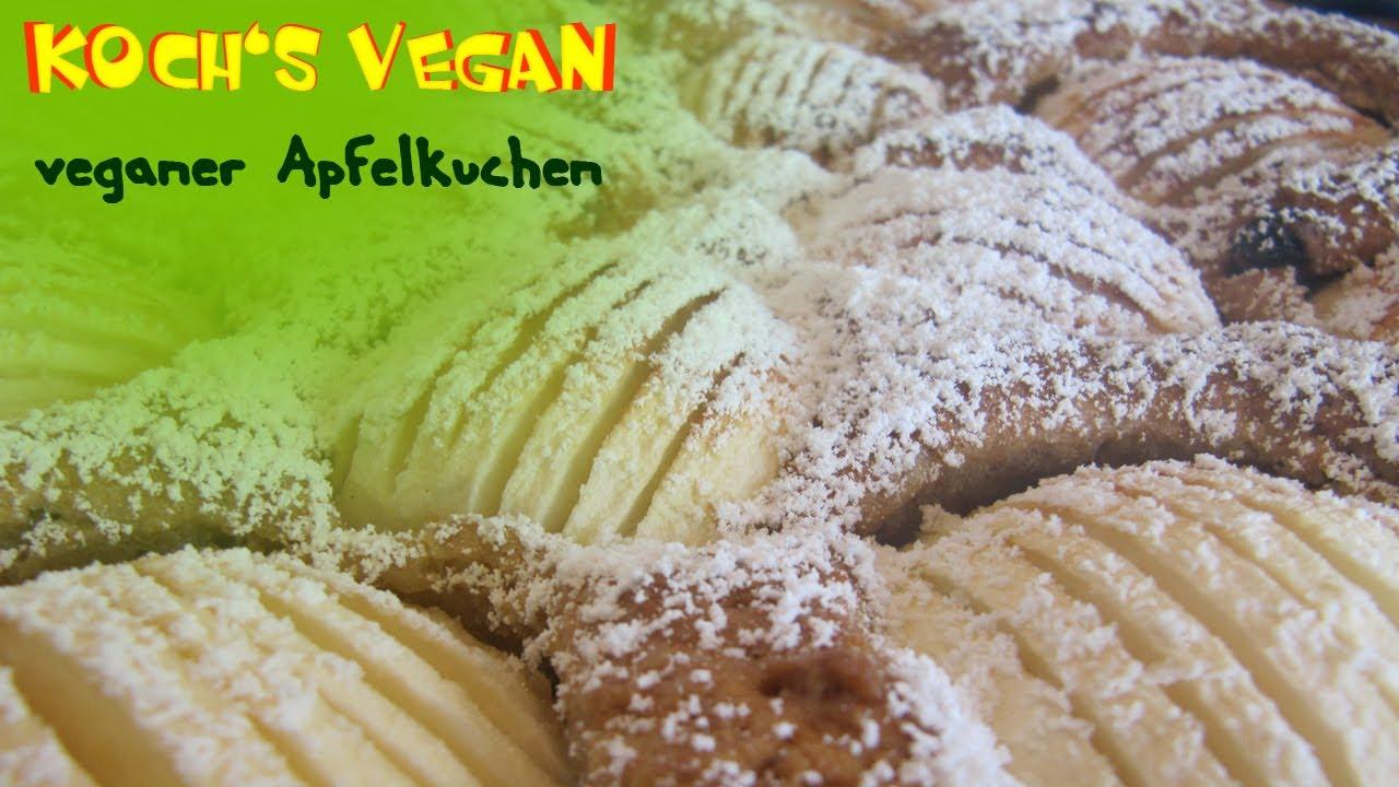Veganer Apfelkuchen Veganen Kuchen Backen Vegane Rezepte Von