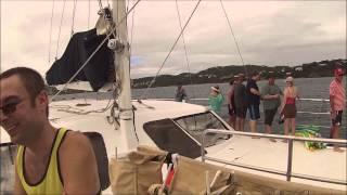 st thomas catamaran to st. Johns