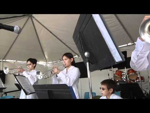 Rock The House 2011 - Kandy Murphy Trumpet Players...