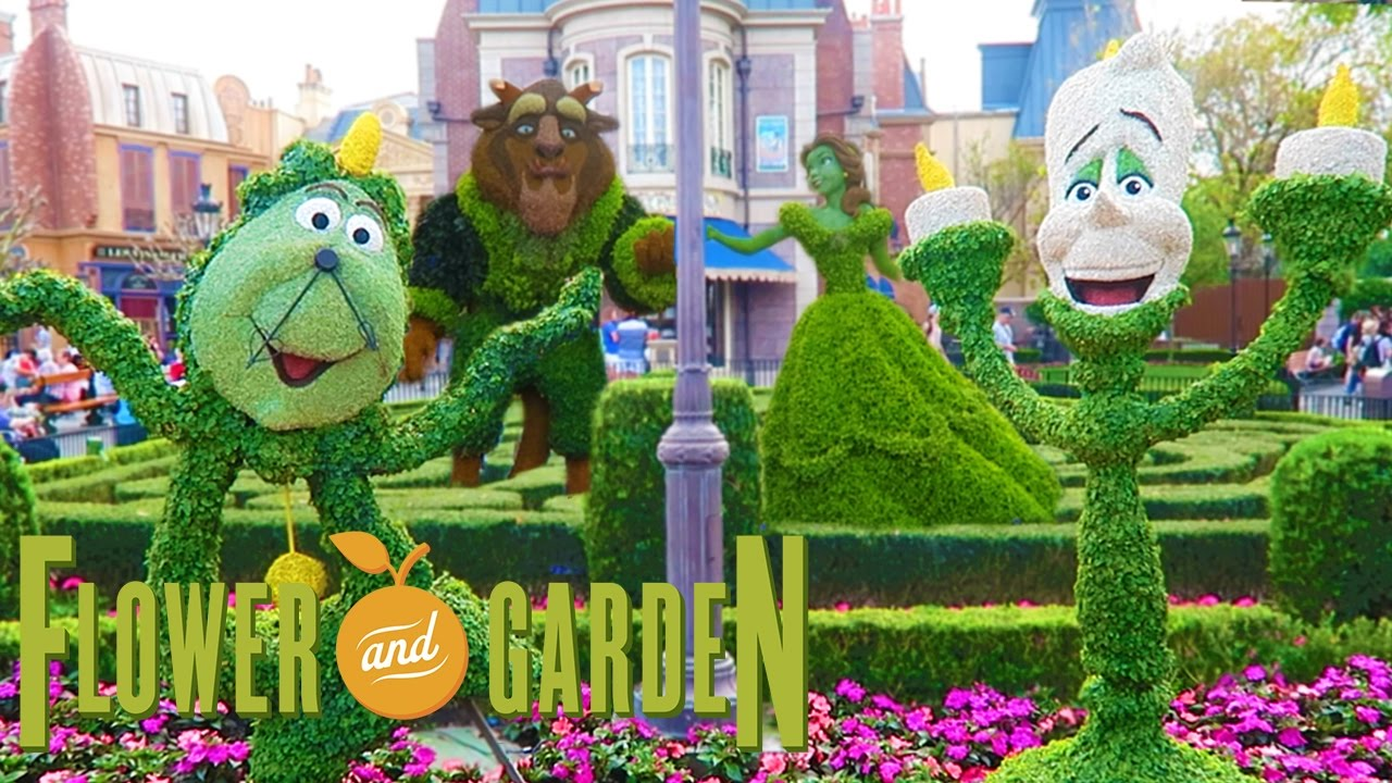 Epcot Flower And Garden Festival 2017 Walt Disney World Youtube