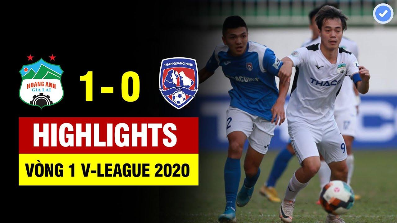 Highlights HAGL 1-0 Than Quảng Ninh | Văn Toàn bứt tốc như tên lửa kiến tạo đẹp mắt | 06/03/2020