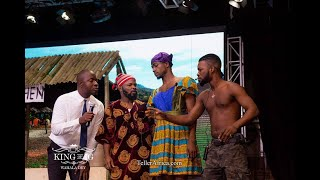 Mc Lively, Nedu,Broda Shaggi,Josh2Funny on a Stage Play with Other @ Kings of IG