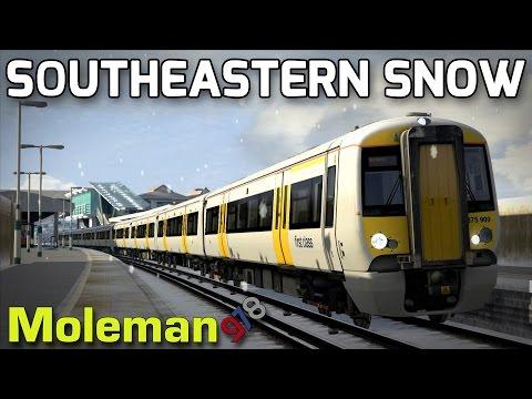 Train Simulator 2016   Southeastern Snow   Class 375 Electrostar