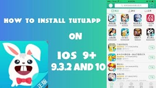How To DOWNLOAD TuTuApp ON iOS 9+ AND 10+ *WORKING* BEST WAY