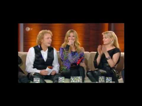 Martina Hill meets Heidi Klum bei
