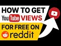 How to promote Youtube videos on Reddit