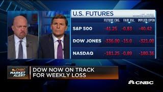 Jim Cramer: Investors will regret selling U.S. stocks on Europe Covid-19 spikes