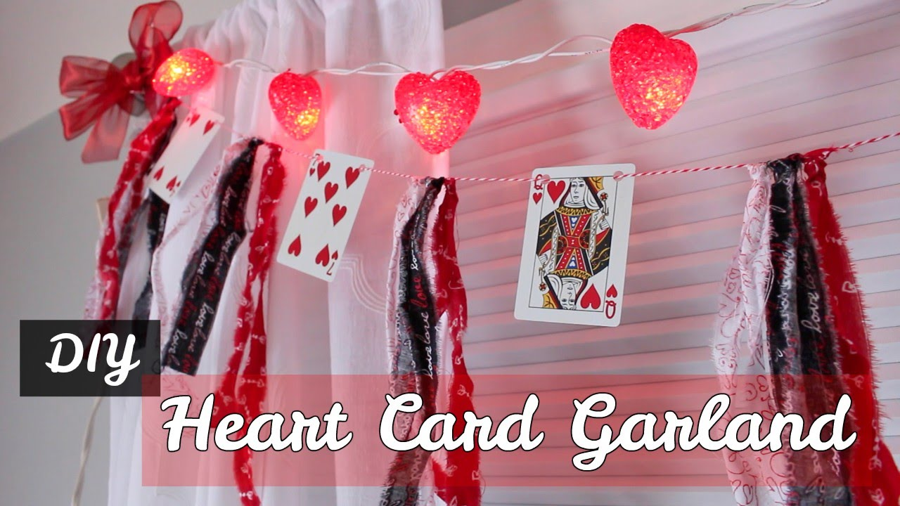 DIY – Valentine Playing Cards