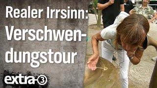 Realer Irrsinn: Steuerverschwendungstour in Köln | extra 3 | NDR