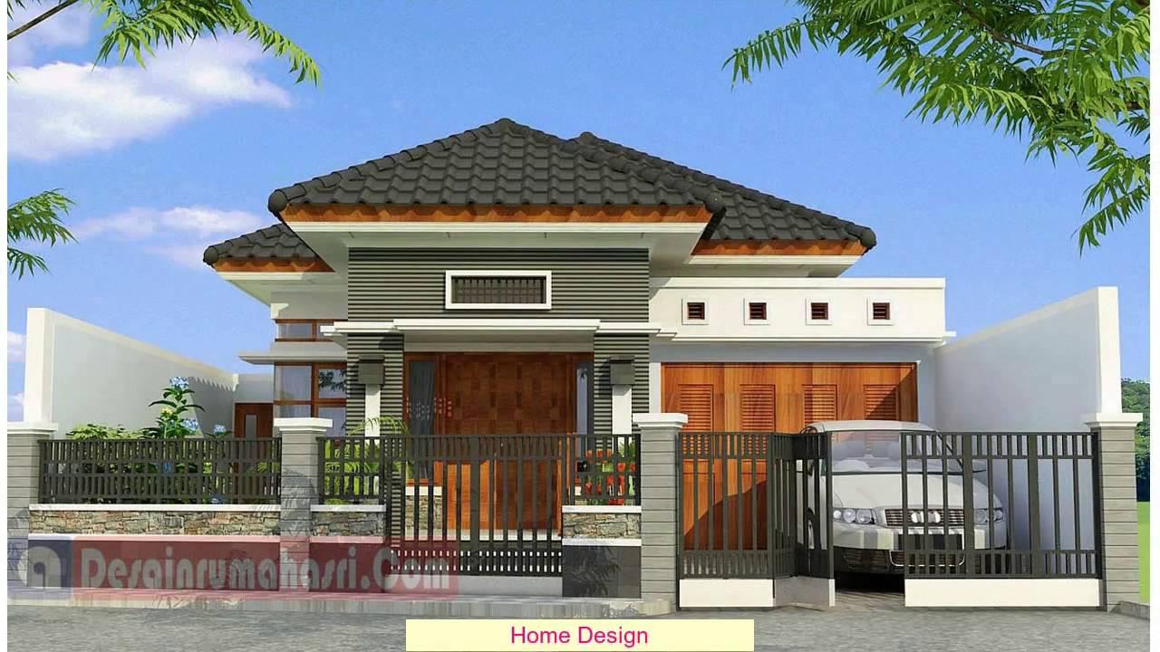 Desain Rumah Sederhana Luas Tanah 60