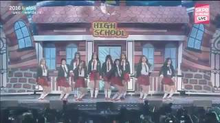 161119 ioi dance break 2016 melon music awards mma 2016