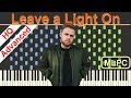 Tom Walker Leave A Light On I Piano Tutorial Sheets By MLPC mp3