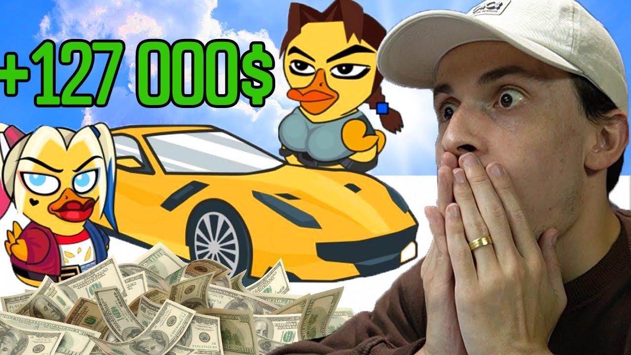 Download 127 000$ ის გათამაშება ! Waves Duck ის სიურპრიზი ყველას