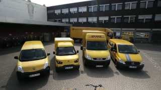 Carbon-free delivery in Bonn with DHL