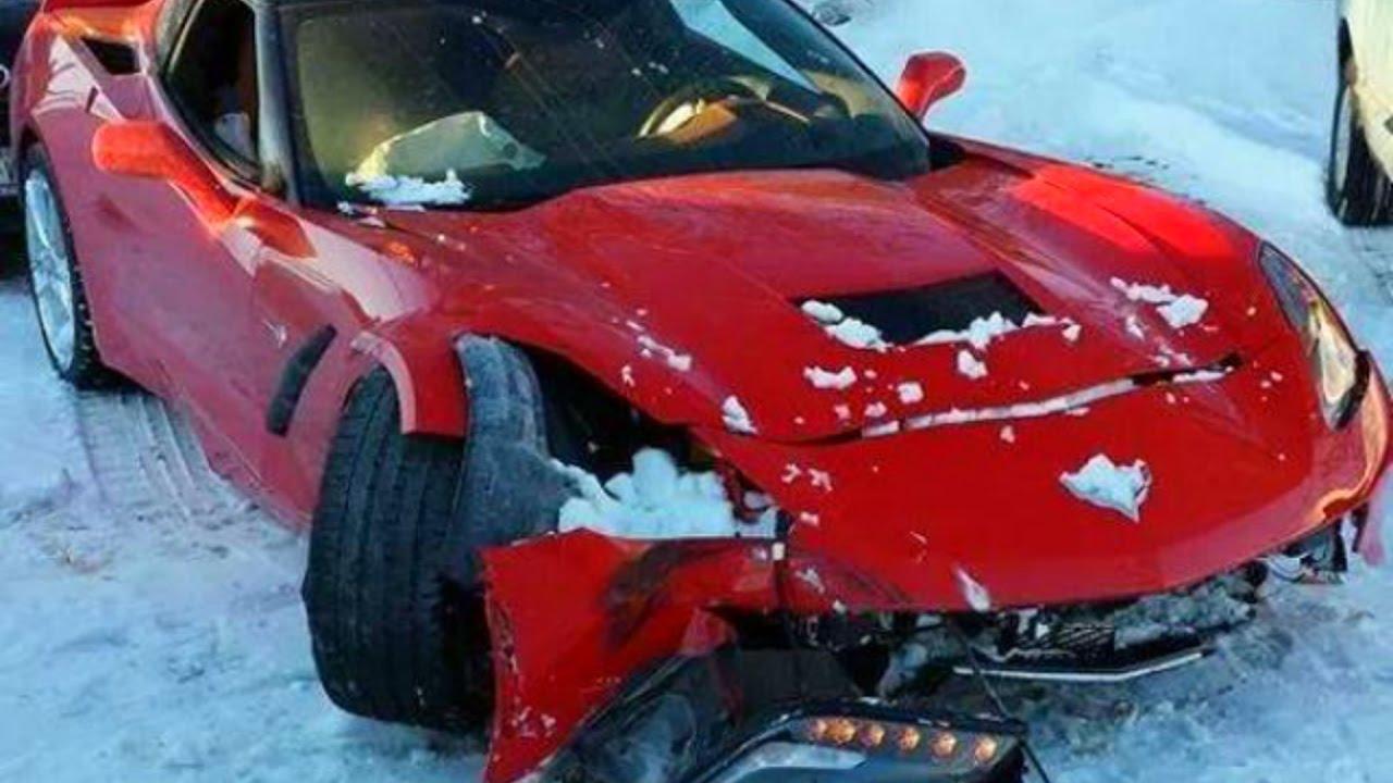 Extreme Retarde SNOW Crash Compilation 2017 - Ultimate Stupid Car Crash Ice #1