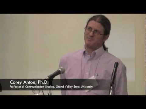 "Corey Anton - ""General Semantics and YouTube Vlogging"""