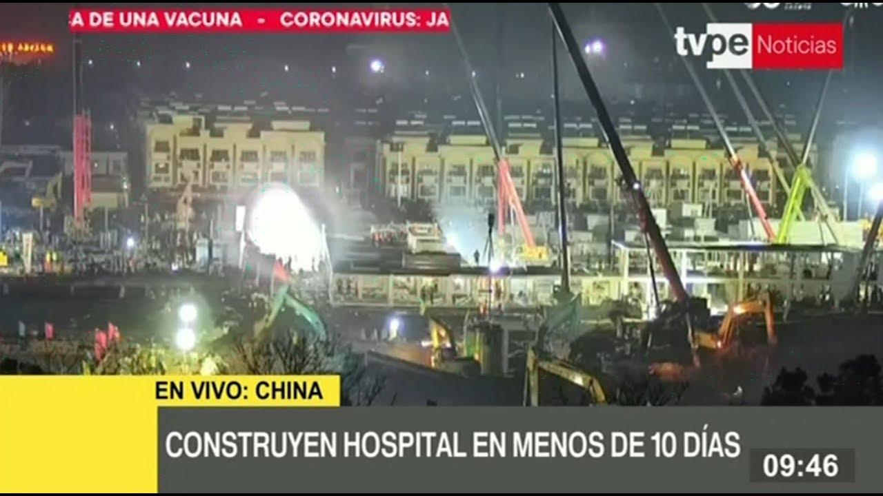 Construyen en menos de 10 días hospital para tratar pacientes con ...