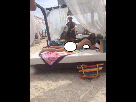 FOTO EXCLUSIV! Bianca Rus a venit la plaja, imbracata ca de...