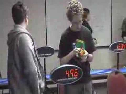 Tim Reynolds Rubik's Cube 12.18 Seconds