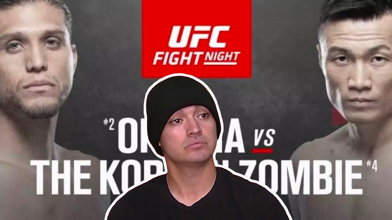 UFC FIGHT NIGHT - Ortega vs Jung - Mexican Fight Companion 🔥🔥