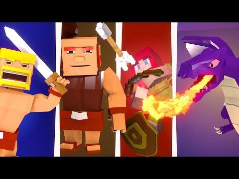 Minecraft | Clash of Clans Nations #9 - Insane Raids!