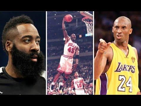 f4ae9919e920 James Harden Surprising Michael Jordan and Kobe Bryant claim made of Rockets  star