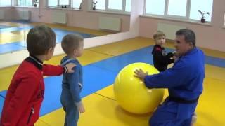 Первый открытый урок по дзюдо - 4. КОВСБИ * Хаттацу * ( ул. Героев Сталинграда, 33 - б )