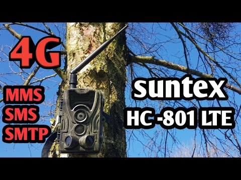 Suntek 4G Trail Camera HC-801LTE MMS/SMS/SMTP 4G/3G/2G