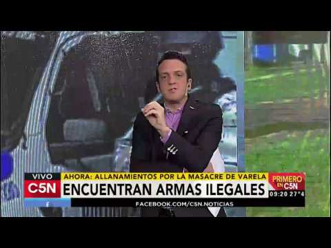 C5N - Primero en C5N: Allanamientos por la masacre de Florencio Varela