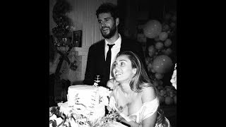 Miley Cyrus and Liam Hemsworth Wedding Clips + Pictures