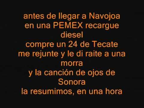 El trokero locochon lyrics