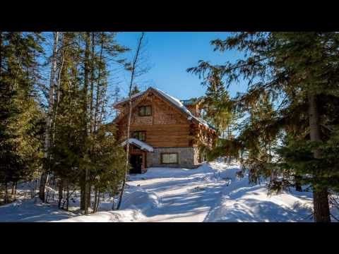 Whitefish Montana Log Home