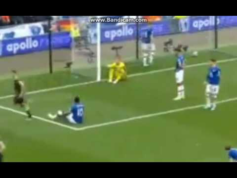 Everton vs Chelsea 0-2 Goal Gary Cahill HD