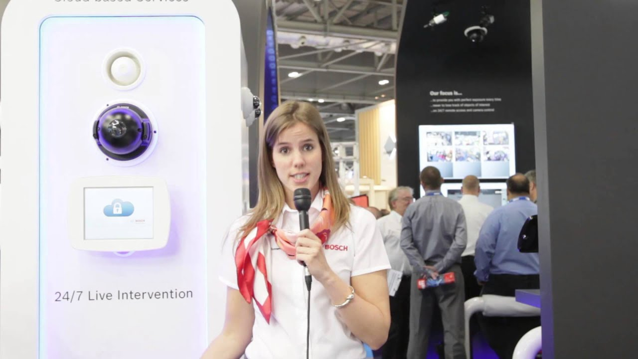 Bosch Security - Cloud Based Services - IFSEC 2014