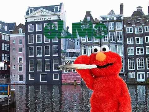 Elmo Smoking Weed