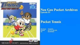 Neo Geo Pocket Archives #05: Pocket Tennis