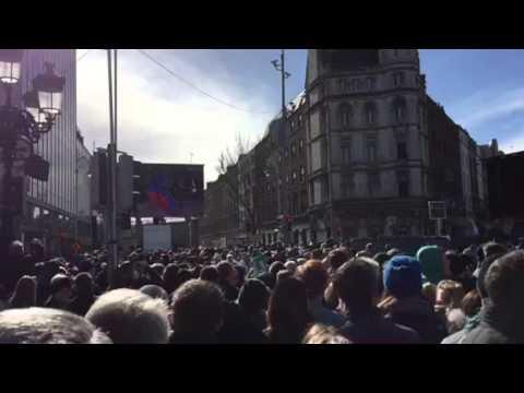 Last Post at Dublin 1916 Commemoration
