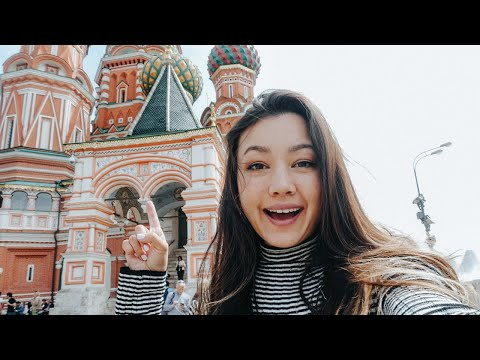 Traveling to Moscow, Russia in 2019