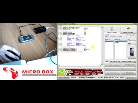 Samsung S3370 Read Unlock Codes with Micro-Box