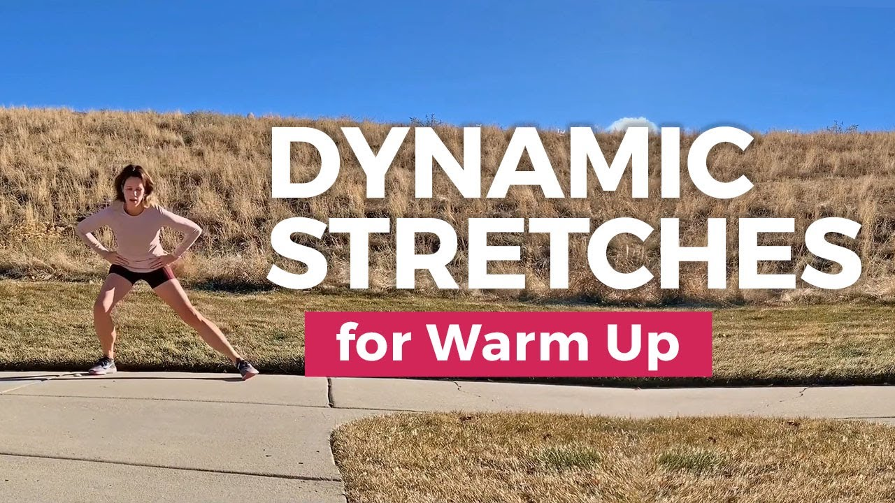5 Minute Dynamic Stretching Warm Up to Improve Runs