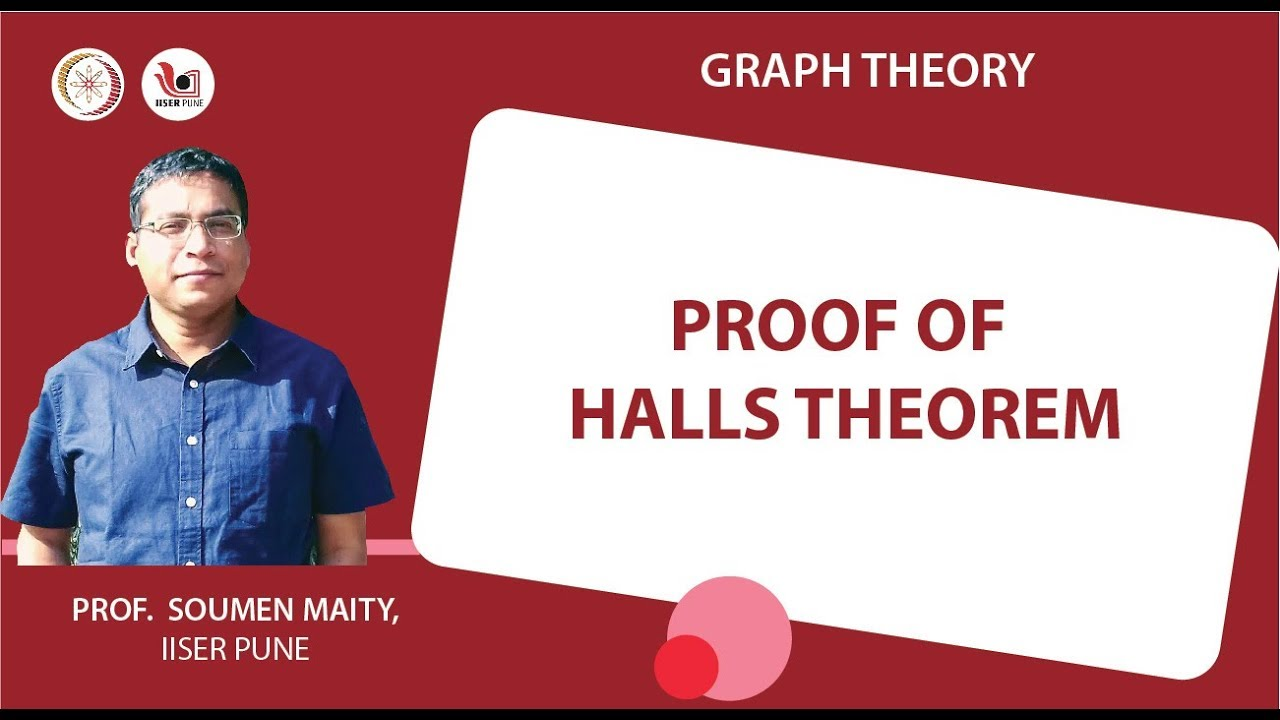 Lecture 10 part 2 proof of halls theorem youtube lecture 10 part 2 proof of halls theorem graph theory baditri Gallery