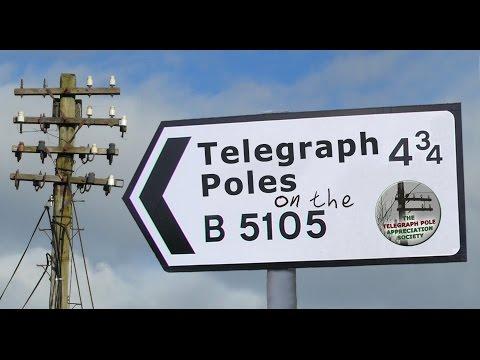 Telegraph Poles on the B5105