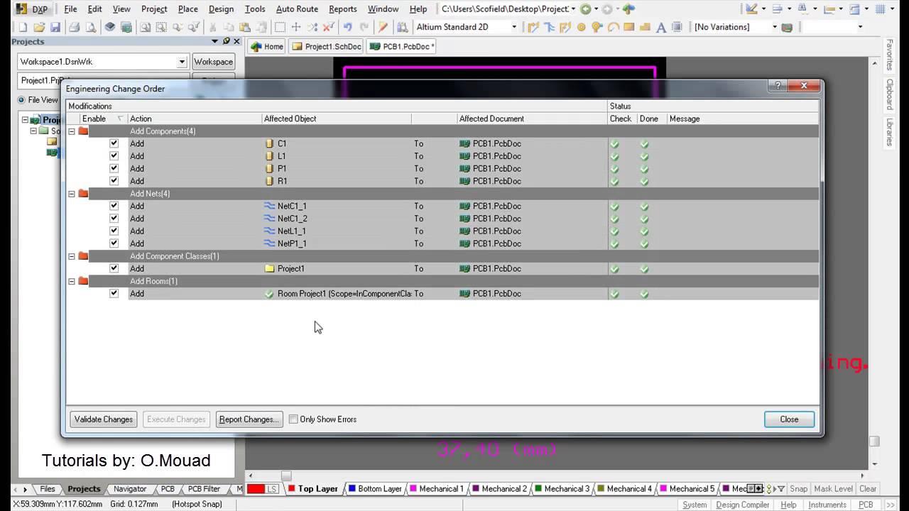 Altium Designer Tutorial 1: Schematic capture and PCB layout - Part2 ...